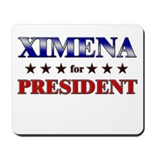 XIMENA for president Mousepad