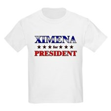 XIMENA for president T-Shirt