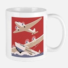 Vintage Sea and Air Mug