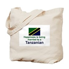 Happily Married Tanzanian Tote Bag