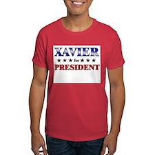 XAVIER for president T-Shirt