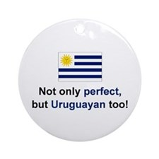 Perfect Uruguayan Ornament (Round)