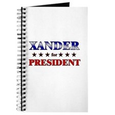 XANDER for president Journal