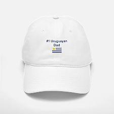 #1 Uruguayan Dad Baseball Baseball Cap