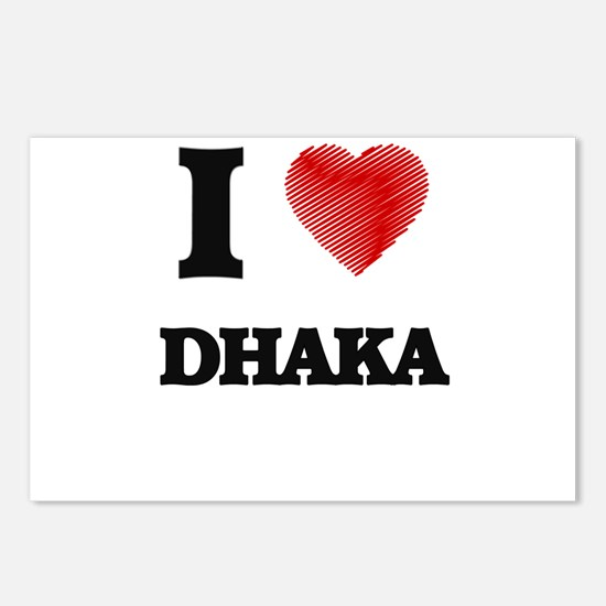 I Heart DHAKA Postcards (Package of 8)