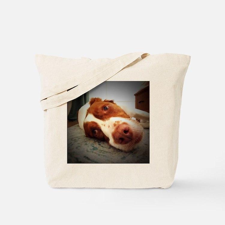 Cute American brittany Tote Bag