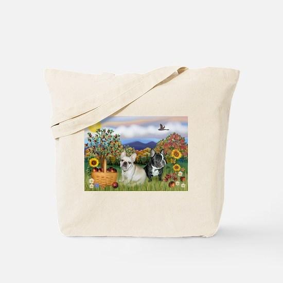 French Bulldog Picnic Tote Bag