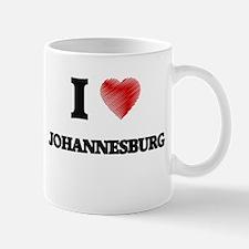 I Heart JOHANNESBURG Mugs