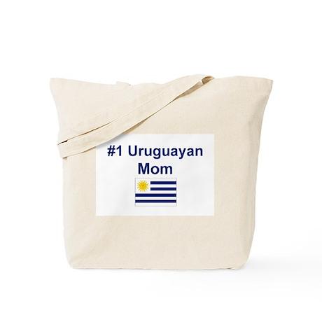 #1 Uruguayan Mom Tote Bag