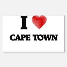 I Heart CAPE TOWN Decal