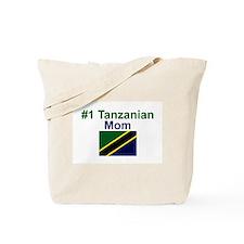 #1 Tanzanian Mom Tote Bag