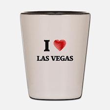 I Heart LAS VEGAS Shot Glass