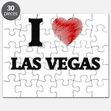 I Heart LAS VEGAS Puzzle