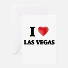I Heart LAS VEGAS Greeting Cards