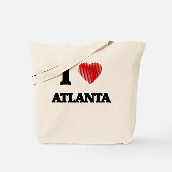 I Heart ATLANTA Tote Bag
