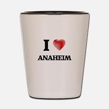 I Heart ANAHEIM Shot Glass
