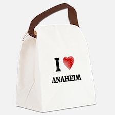I Heart ANAHEIM Canvas Lunch Bag