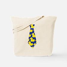Ducky Tie Tote Bag