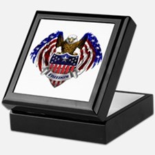 Unique American eagle Keepsake Box