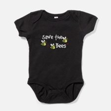 Save the Bees Baby Bodysuit