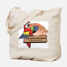 Carnival Dreamers 2016 front of shirt Tote Bag