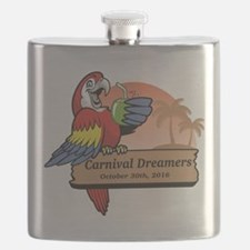 Funny Carnival cruise Flask
