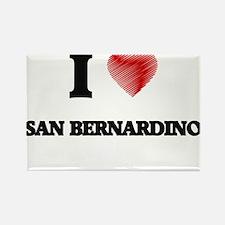 I Heart SAN BERNARDINO Magnets