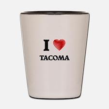 I Heart TACOMA Shot Glass