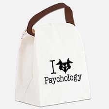 I Heart (Rorschach Inkblot) Psychology Canvas Lunc