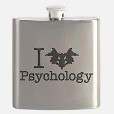 I Heart (Rorschach Inkblot) Psychology Flask