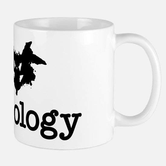 I Heart (Rorschach Inkblot) Psychology Mugs