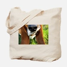 Basset Hound Nose Tote Bag