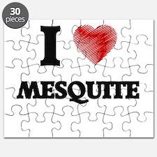 I Heart MESQUITE Puzzle