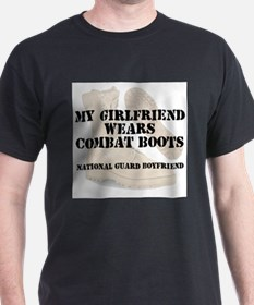 National Guard Boyfriend wears DCB T-Shirt