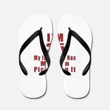 I'm 35 My Id Finally Has My Own Picture Flip Flops