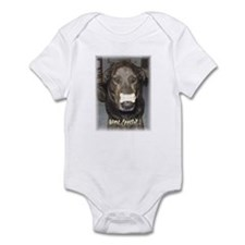 """Infant Bodysuit/Onesie """"Bone Appetit!"""" (white)"""