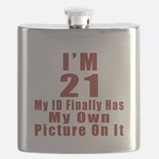 I'm 21 My Id Finally Has My Own Picture Flask