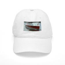 Antique Wooden Boat Baseball Cap