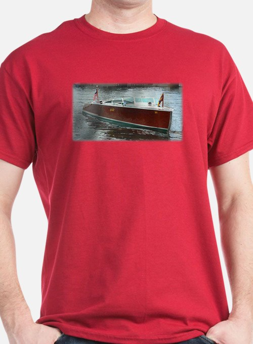 Antique Wooden Boat T-Shirt