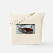 Antique Wooden Boat Tote Bag