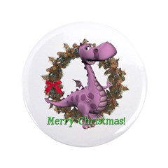 "Dusty Dragon 3.5"" Button"