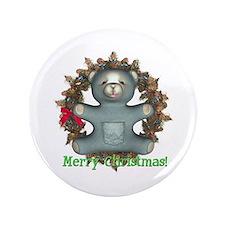 """Teddy Bear 3.5"""" Button"""