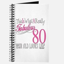 80th Birthday Gift Journal