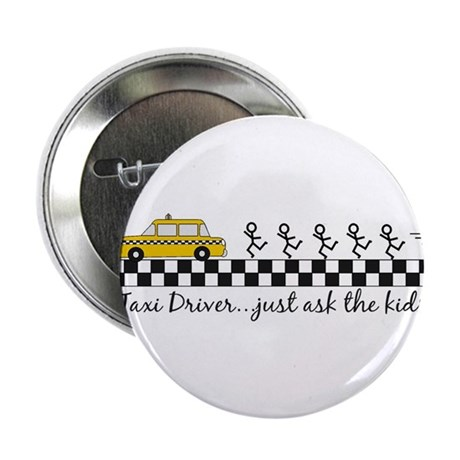 """Taxi Driver 2.25"""" Button (10 pack)"""