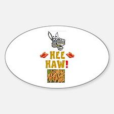 HEE HAW! - DONKEY'S DINNERTIME! Decal