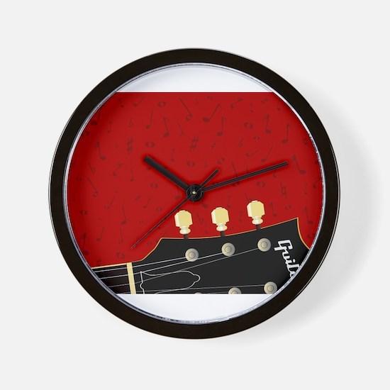 Love Guitar Wall Clock