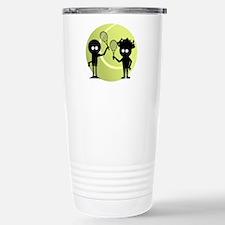 Mixed Doubles Travel Mug