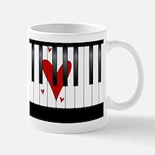 Love Piano Mugs