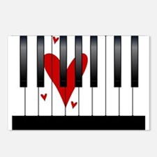 Love Piano Postcards (Package of 8)