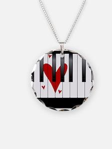 Love Piano Necklace